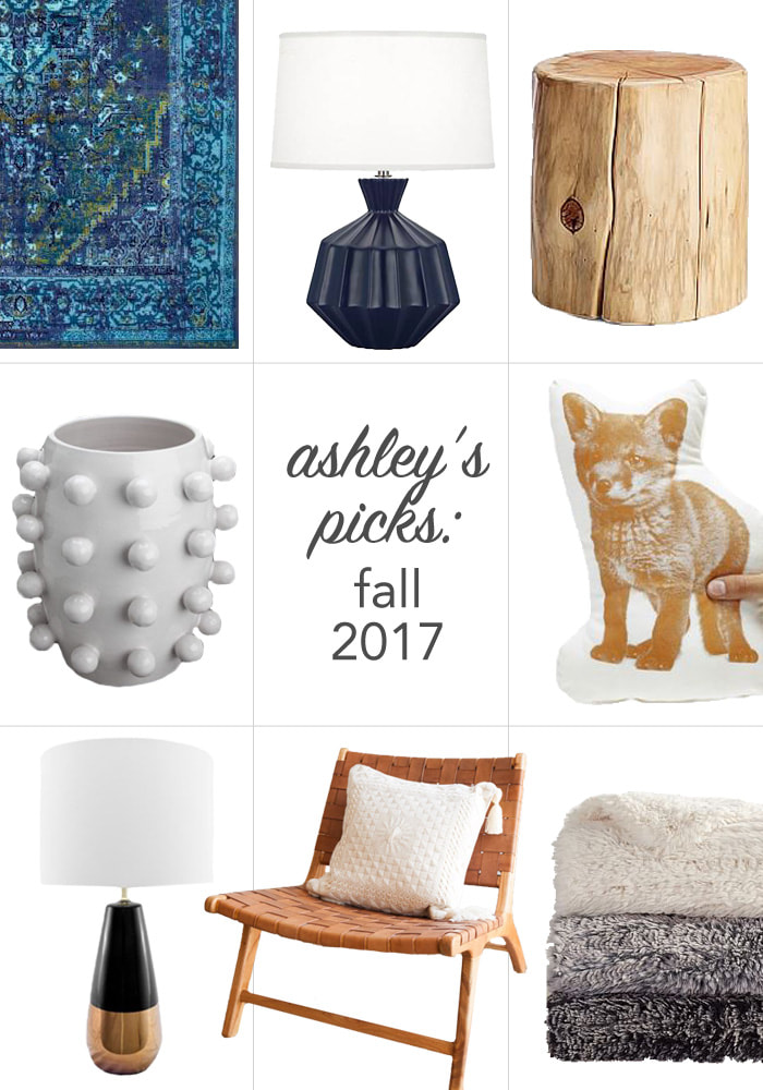 Ashley Marino, interior decorator and owner of Ashley Marino Designs LLC in Dallas Fort Worth, Texas, picks 8 of the hottest decor items trending this Fall.